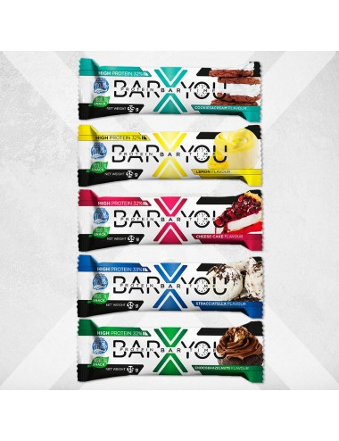 Pack Mixto de Barritas Proteicas Bar X You